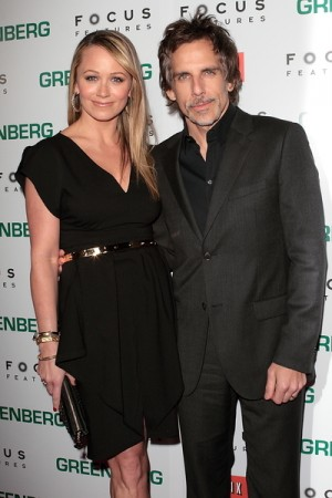 Ben Stiller and Christine Taylor photo