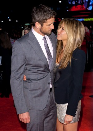 Jennifer Anniston and Gerard Butler photo