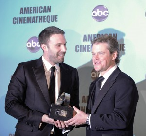 Matt Damon and Ben Affleck photo