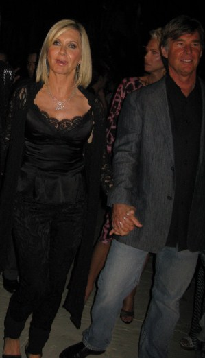 Olivia Newton-John and husband