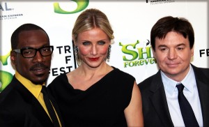 Eddie Murphy, Cameron Diaz and Mike Myers