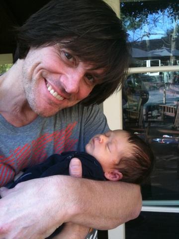 Jim carreys grandson
