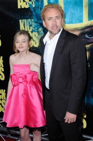 Nicholas Cage and Chloe Moretz