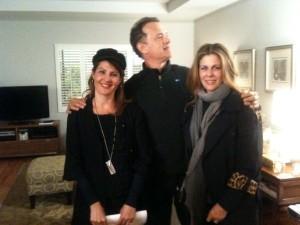 Nia Vardalos, Tom Hanks and Rita Wilson