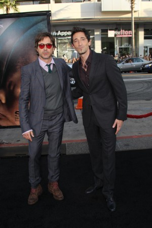 Robert Downey Jr. and Adrien Brody