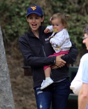 Jennifer Garner and daughter, Seraphina