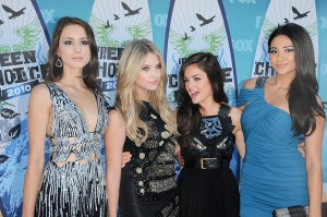 Troian Bellisario, Ashley Benson, Lucy Hale and Shay Mitchell