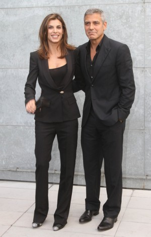 George Clooney and girlfriend