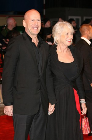 Bruce Willis and Helen Mirren at UK premiere for Red