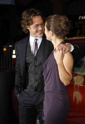 Robert Downey Jr. and Susan Downey Jr. Due Date Los Angeles premiere