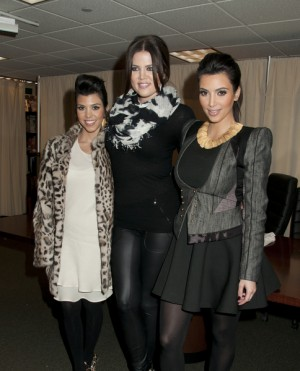 Kardashian sisters sign their new book at Barnes & Noble in NYC