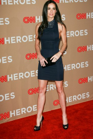 Demi Moore at CNN Heroes All Star Tribute in LA