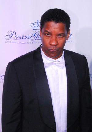 Denzel Washington at Princess Grace Awards in NYC