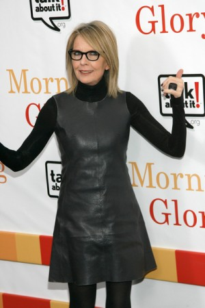 """Diane Keaton at """"Morning Glory"""" World Premiere in NYC"""