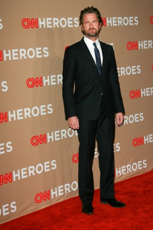 Gerard Butler at the 2010 CNN All Star Tribute
