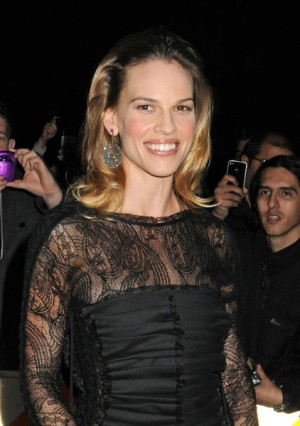 Hillary Swank ay the Gotham Independent Film Awards in NYC