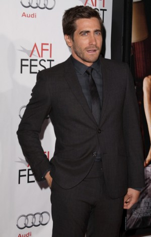 "Jake Gyllenhaal at the AFI Fest screening of ""Love and Other Drugs"""