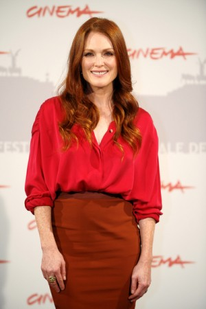 Julianne Moore at the 5th Annual Rome International Film Festival