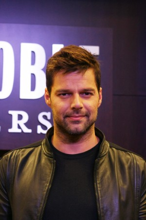 "Ricky Martin signs his new book ""Me"" in Los Angeles"