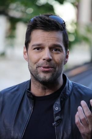 Ricky Martin at Vanity Magazine art MOCA party in Miami