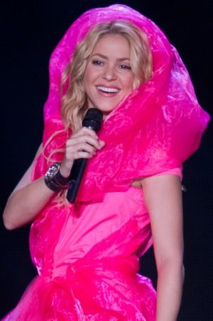 Shakira in concert in Lisbon