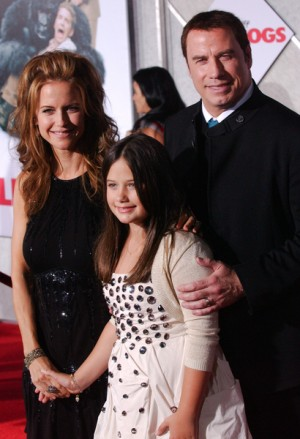 John Travolta and Kelly Preston have new baby