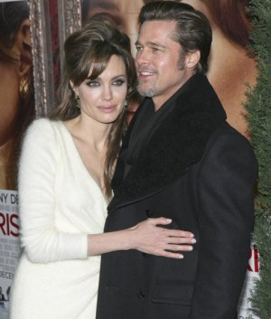 Angelina Jolie and Brad Pitt at The Tourist World Premiere in NYC