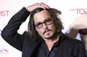 Johnny Depp at The Tourist Rome Premiere