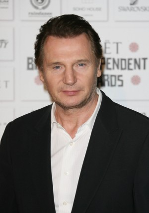 Liam Neeson at 2010 Moet British Independent Film Awards
