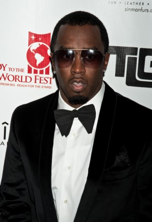 P-Diddy at the Joy to the World Festival Gala in Philadelphia