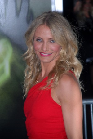 Cameron Diaz at The Green Hornet premiere in Los Angeles