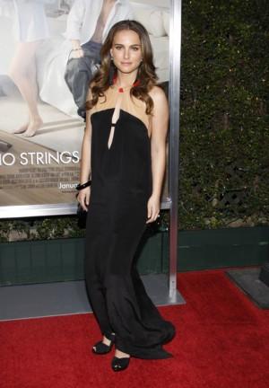 Natalie Portman at No Strings Attached LA premiere