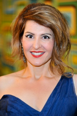 Nia Vardalos at 68th Annual Golden Globe HBO Afterparty