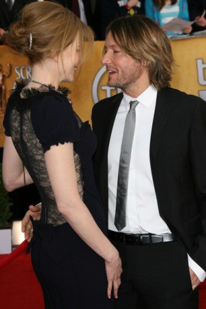 Nicole Kidman and Keith Urban at 17th Annual SAG Awards