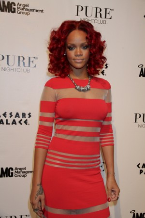 Las Vegas New Year's Eve 2011 with Rihanna
