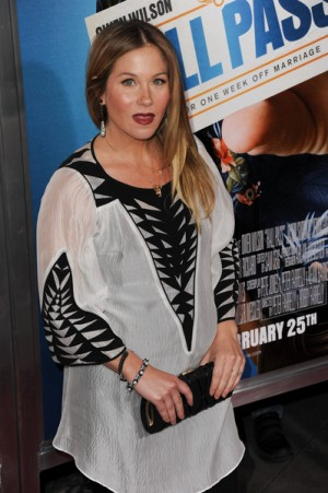 Christina Applegate at LA Premiere of Hall Pass