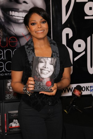 "Janet Jackson book signing ""True You: A Journey to Finding and Loving Yourself"""