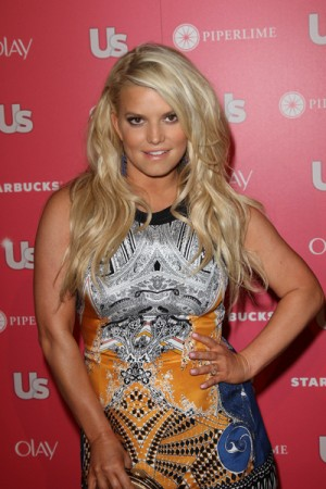 Jessica Simpson wedding dress 2011