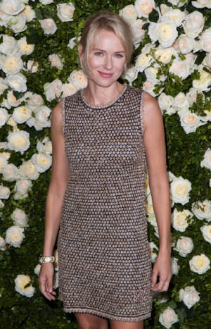 Naomi Watts at Tribeca Film Festival's Chanel dinner