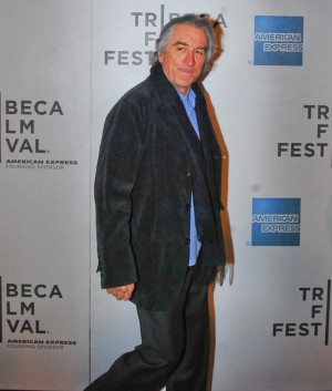 Robert De Niro at Tribeca Film Festival 2011