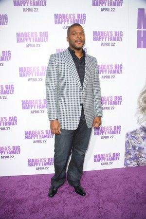 Tyler Perry at Los Angeles Premiere Madea's Big Happy Family