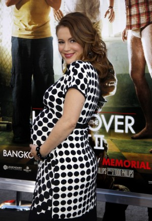 Alyssa Milano at the Hangover 2 Premiere in Los Angeles