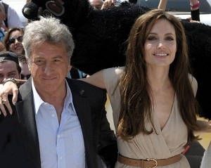 Angelina Jolie and Dustin Hoffman at Cannes Film Festival, Kung Fu Panda 2