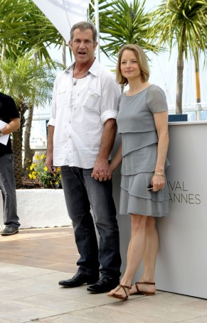 "Mel Gibson and Jodie Foster ""The Beaver"" at 64th Annual Cannes Film Festival"