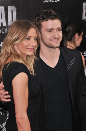 "Justin Timberlake and Cameron Diaz ""Bad Teacher"" NYC premiere"