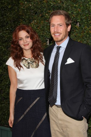 Drew Barrymore at Natural Resources Benefit in Malibu