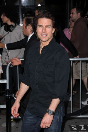 Tom Cruise at Los Angeles movie premiere