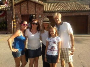 Jack Wagner and Heather Locklear in Malibu