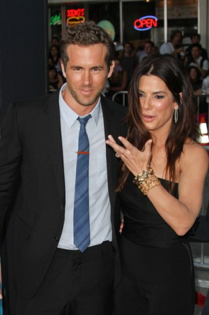 "Sandra Bullock and Ryan Reynolds at ""The Change-Up"" Los Angeles premiere"