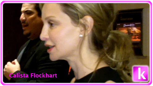 Calista Flockhart Attends Aviation Gala